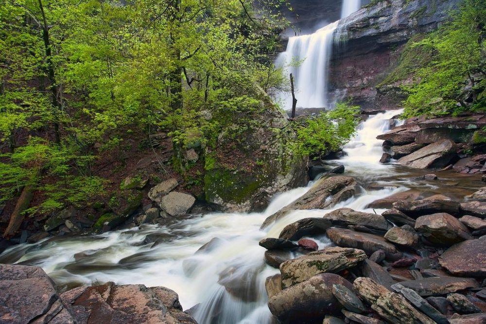 Kaaterskills Waterfall in Catskills NY