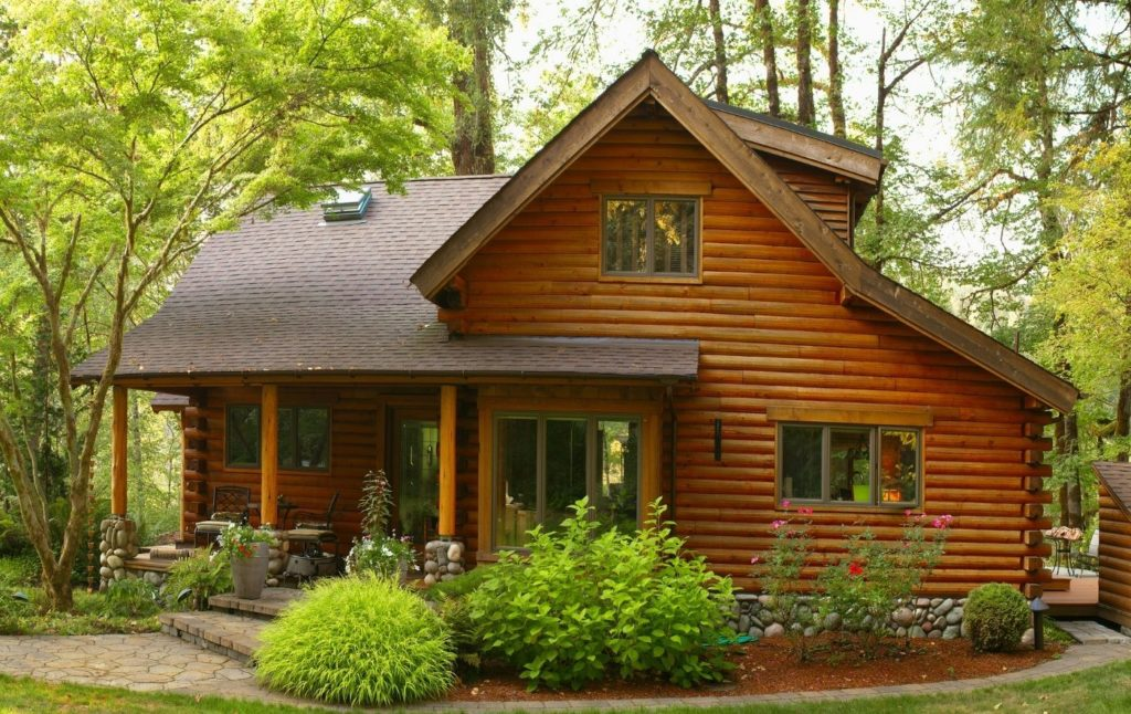 Log Cabin in New York. One of the most romantic Cabin Getaways in New York.