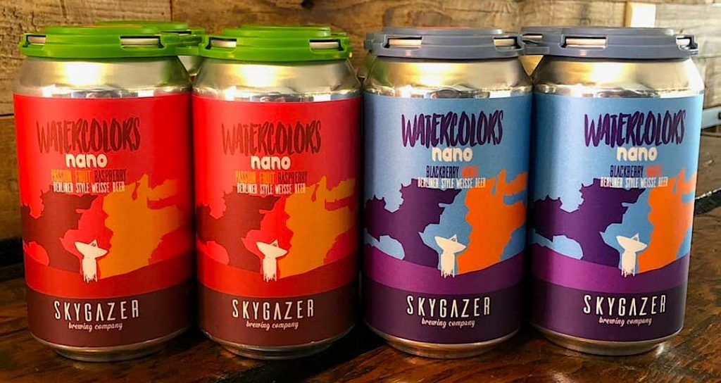 Beers in the can from Now & Later, one of the best Syracuse breweries.
