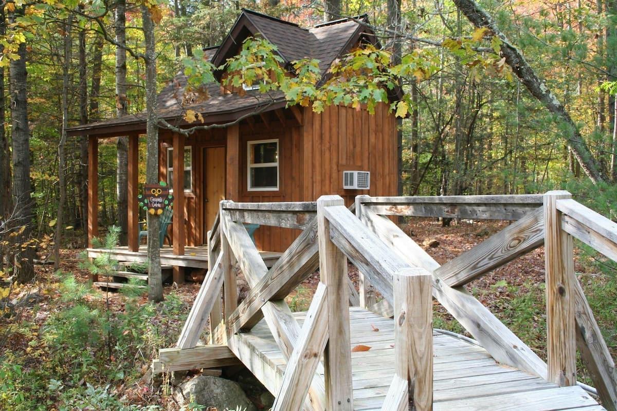Tiny house in the Adirondacks