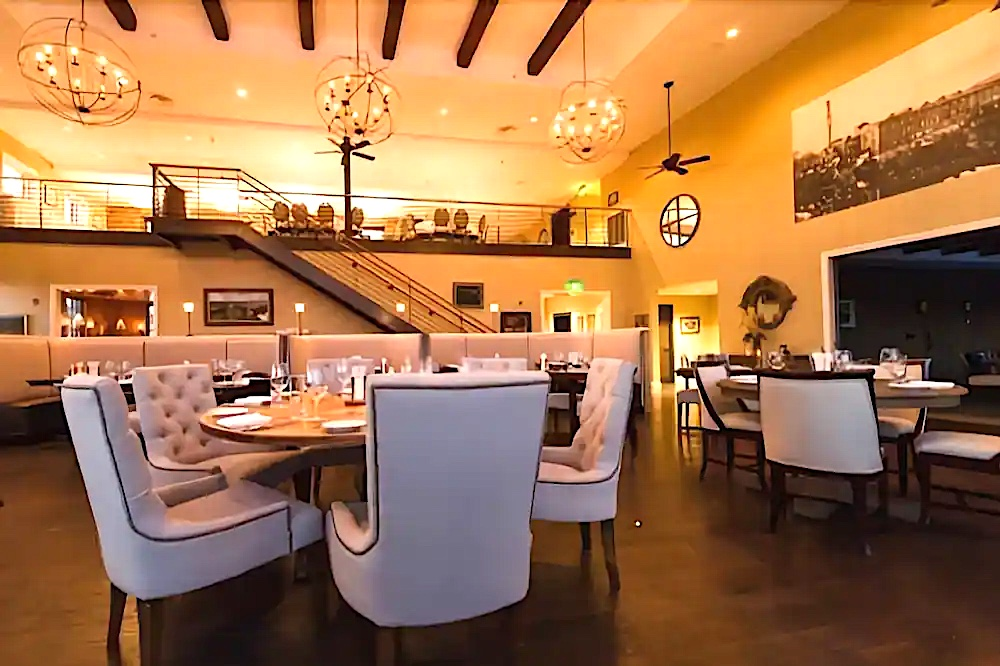 Gorgeous dining rooms of the Diamond Mills Hotel and Tavern in Saugerties NY..